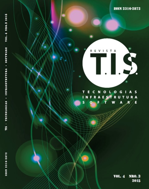 Capa Revista T.I.S. Vol.4 NRO.3 2015